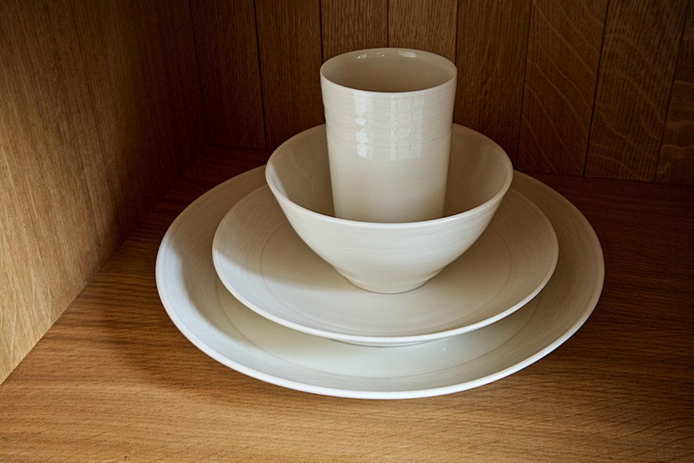 Chris Keenan porcelain dinner set