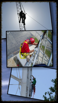 tower rescue collage