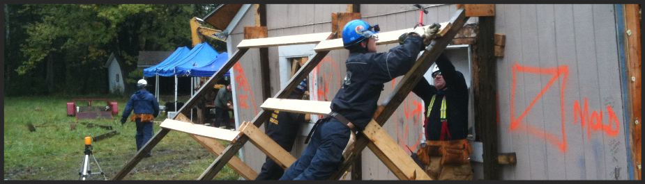 Building collapse training, collapse operations, collapse technician