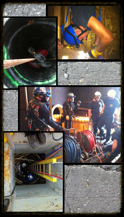 Confined space operations, confined space technician