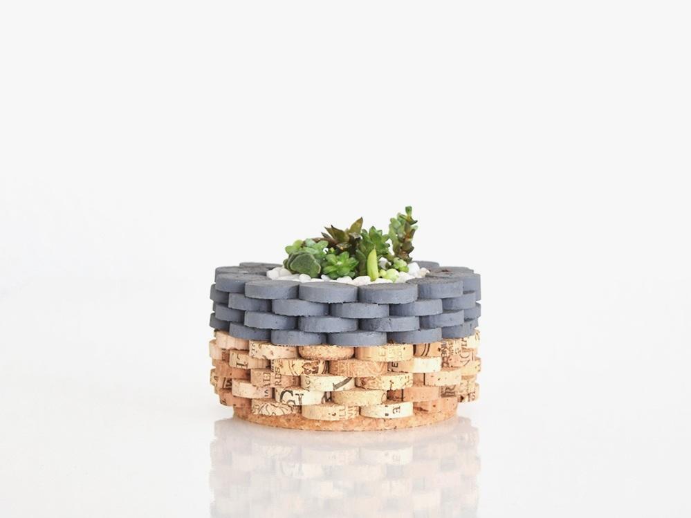 Blue coast planter -