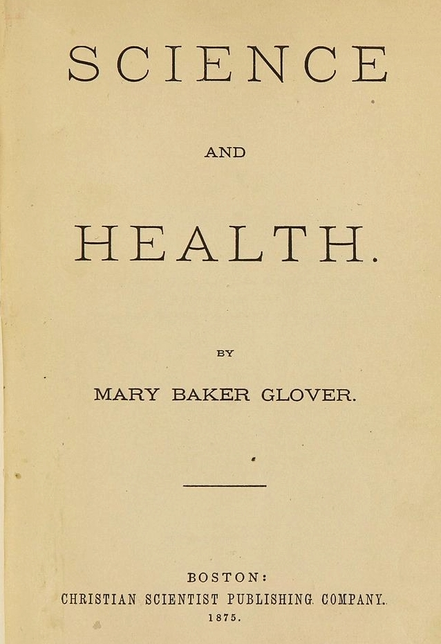 1875 First Edition of Science & Health (Flypage)