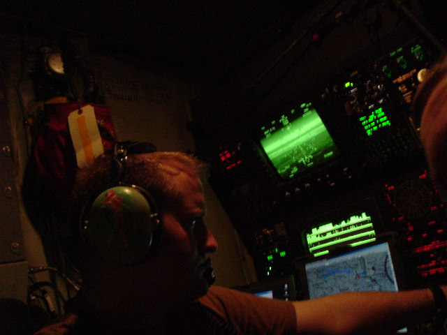 During a mission, OEF, 2003