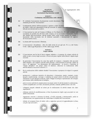 Lo statuto ufficiale dell'associazione FightTheStroke (PDF)