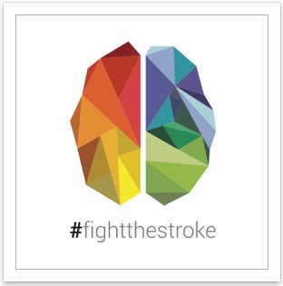 Logo FightTheStroke in high definition - Designer Andrea Antonelli