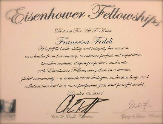 2014 Eisenhower Fellowship on Innovation