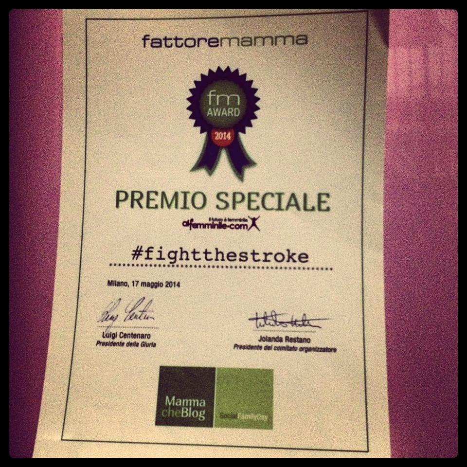 2014 Premio Speciale Al Femminile - MammacheBlog