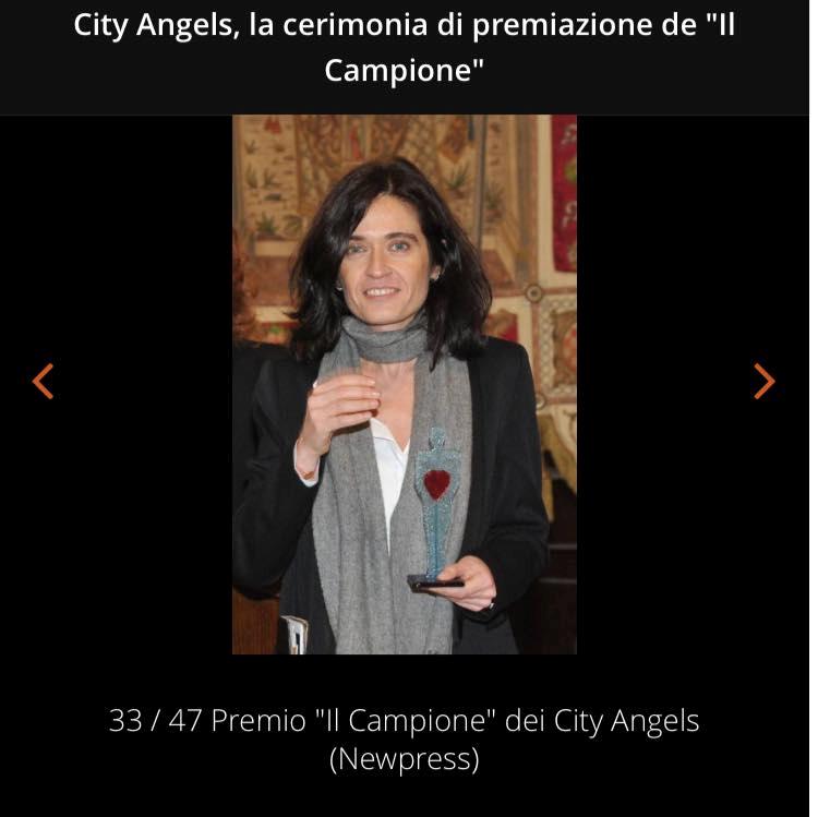 2016 Premio Il Campione per la Salute - City Angels Italia e Facebook Italy