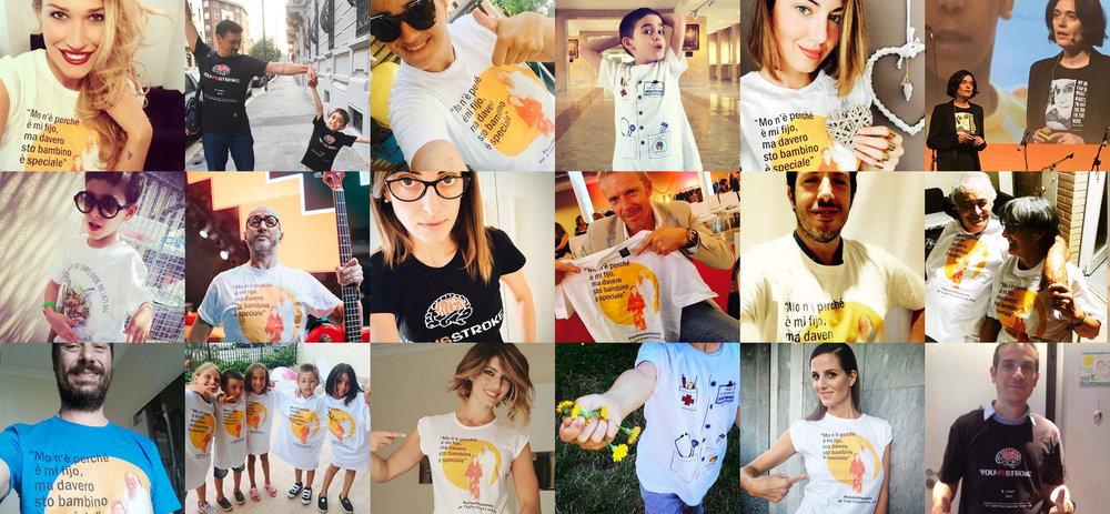 Regala le nostre T-shirt