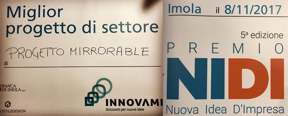 Premio NIDI (Nuova Idea D'Impresa), Imola Novembre 2017