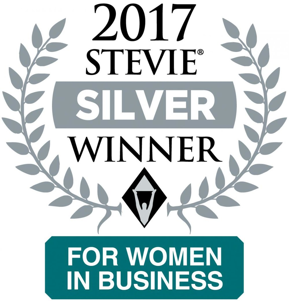Silver Stevie Winner  for:  Organization of the Year – Government or Non-Profit– 10 or Less Employees      Silver Stevie Winner  for: Female Executive of the Year – Government or Non-Profit –10 or Less Employees     www.StevieAwards.com/Women
