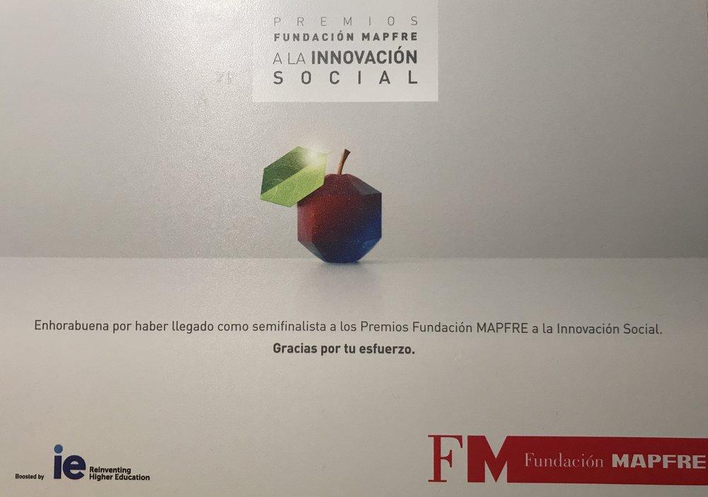 Foundation MAPFRE (Spain) - Semifinalist