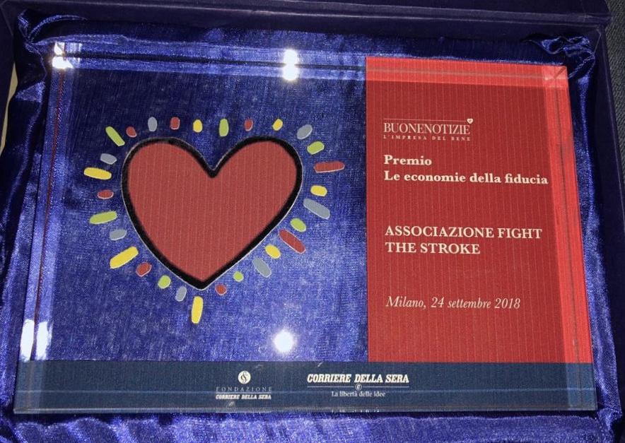 Premio Corriere Buone Notizie, 24 Settembre 2018