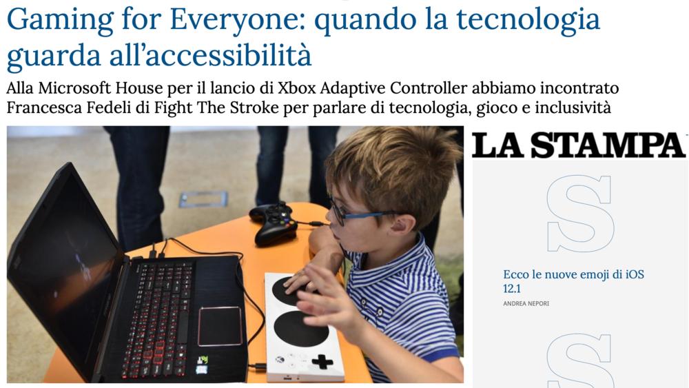 La Stampa, 11/10/2018