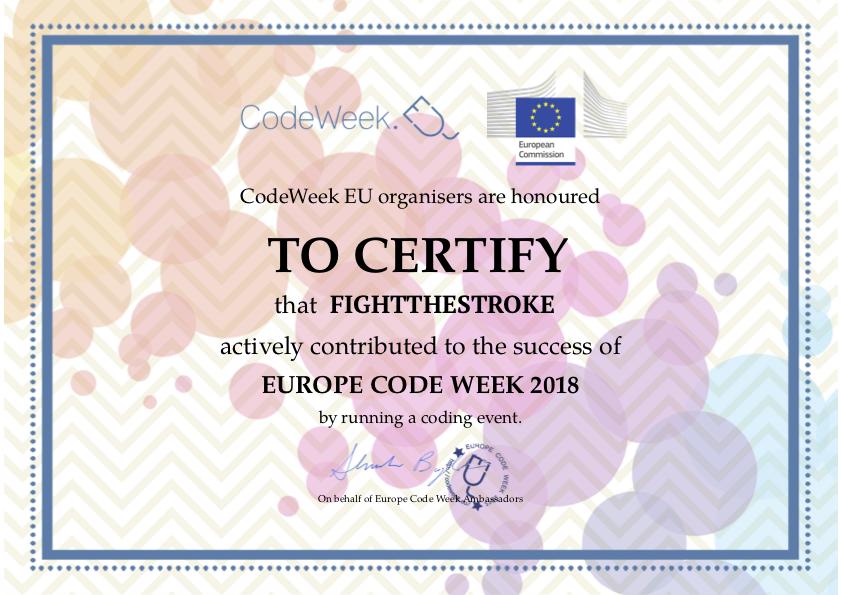 Europe Code Week 2018 - Gaming for Everyone