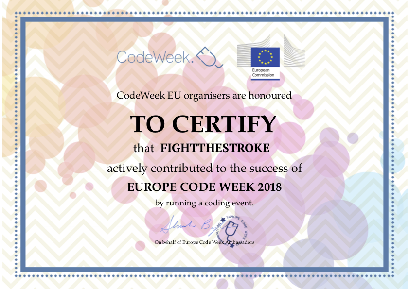 Europe Code Week 2018 - Gaming for Everyone