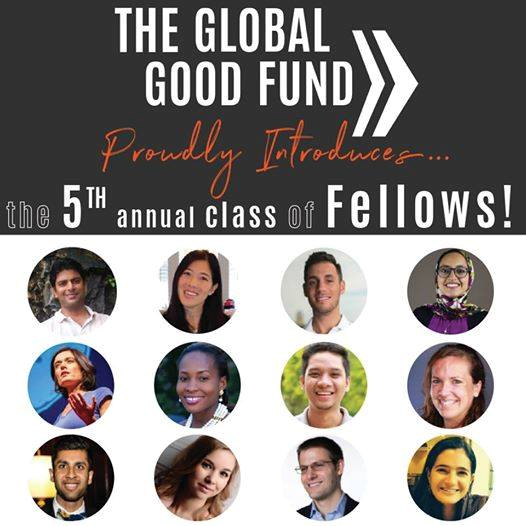 2017 Global Good Fund Fellowship