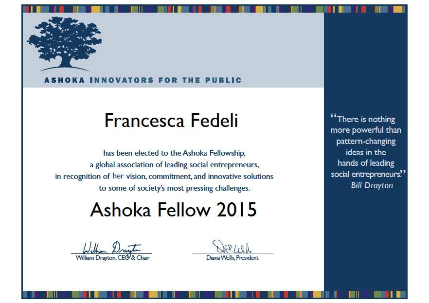 2015 Ashoka Fellowship
