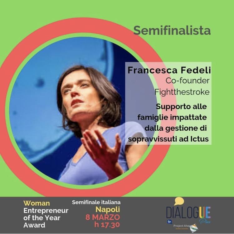 "Finalisti al ""Woman Entrepreneur of the Year Award"""