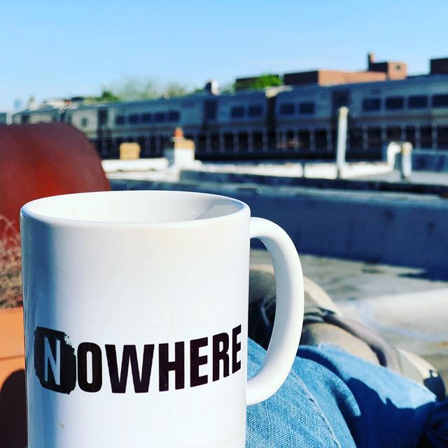 I'd rather be going Nowhere. #roofdeck #outdoorcoworking #coworkers #nwrstudios
