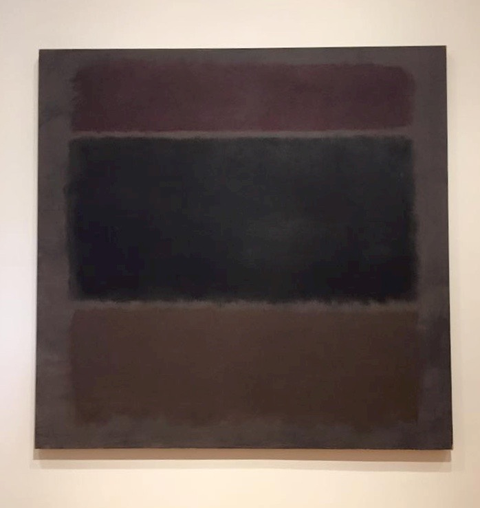 Red Maroons, Mark Rothko.  Taken at the Cleveland Museum of Art.