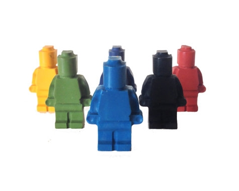 Lego Crayons, by Crayon Box