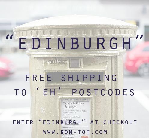Free Edinburgh Shipping