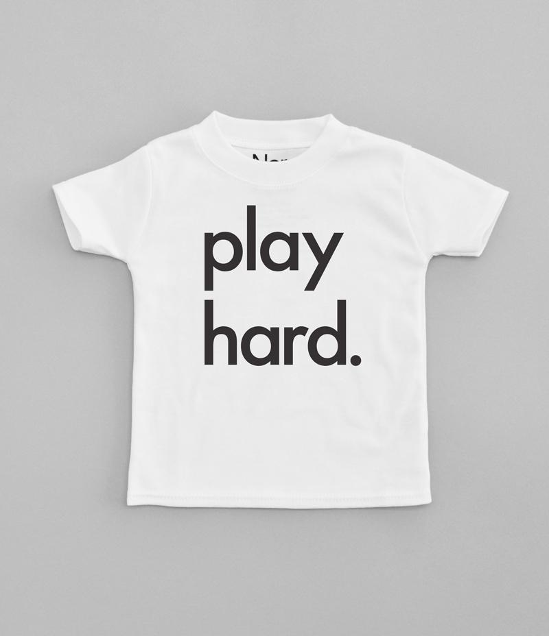Nor Folk Play Hard T