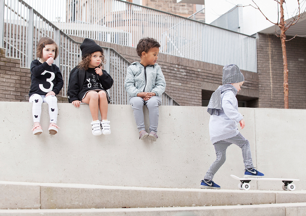 Simple, Modern Kids' Clothing