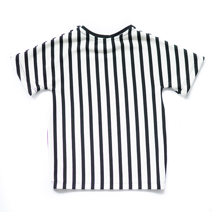 striped monochrome shirt
