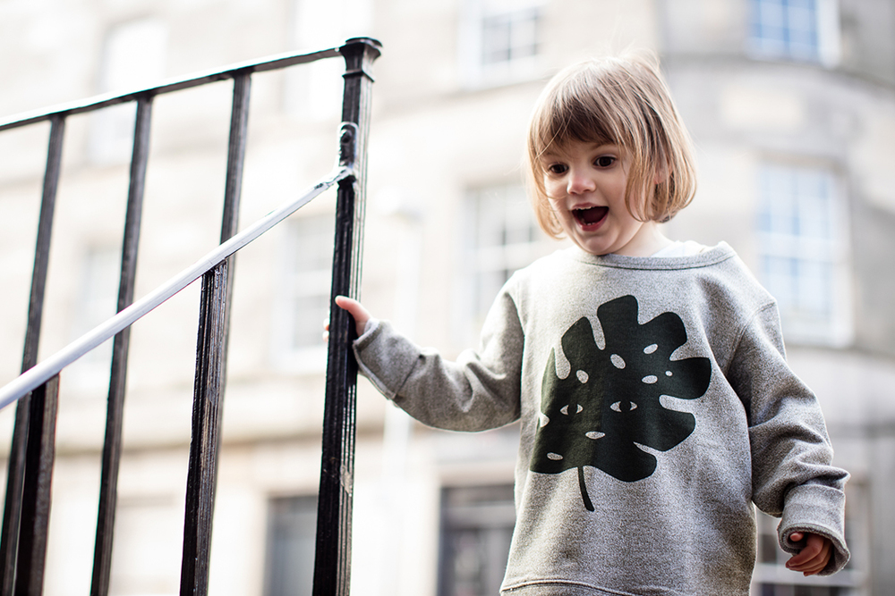 Tiny Cottons Botanical Sweatshirt