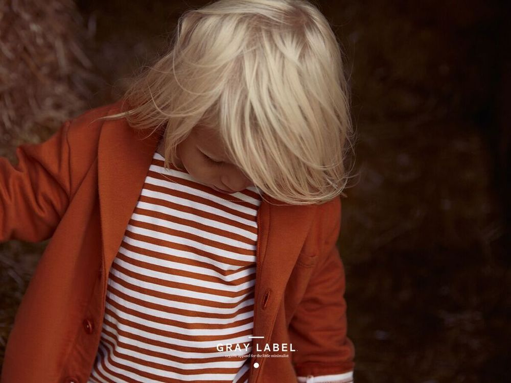 Gray Label Red Earth Stripe