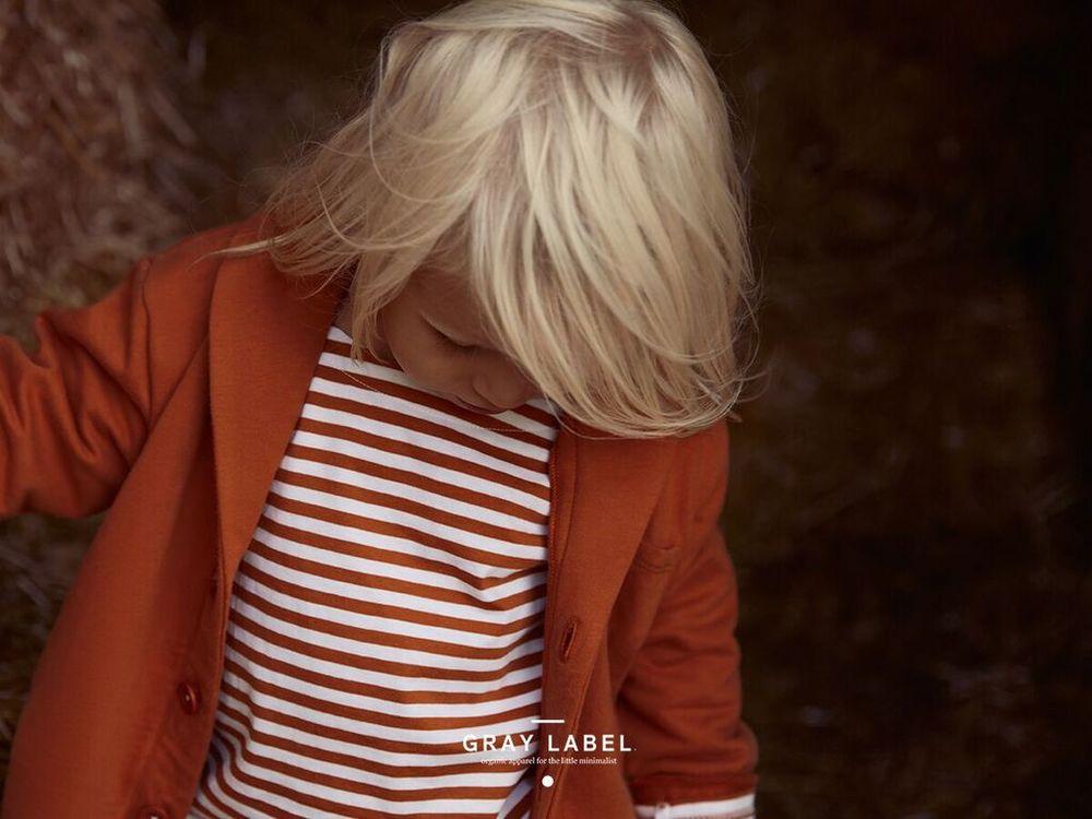 Gray Label Red Earth Stripe
