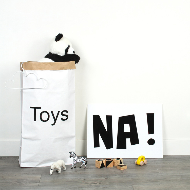 DON'T FORGET SOMEWHERE TO KEEP THE PRESENTS! MON PETIT ZOREOL PAPER STORAGE BAGS ARE PERFECT FOR ALL KINDS OF STORAGE.