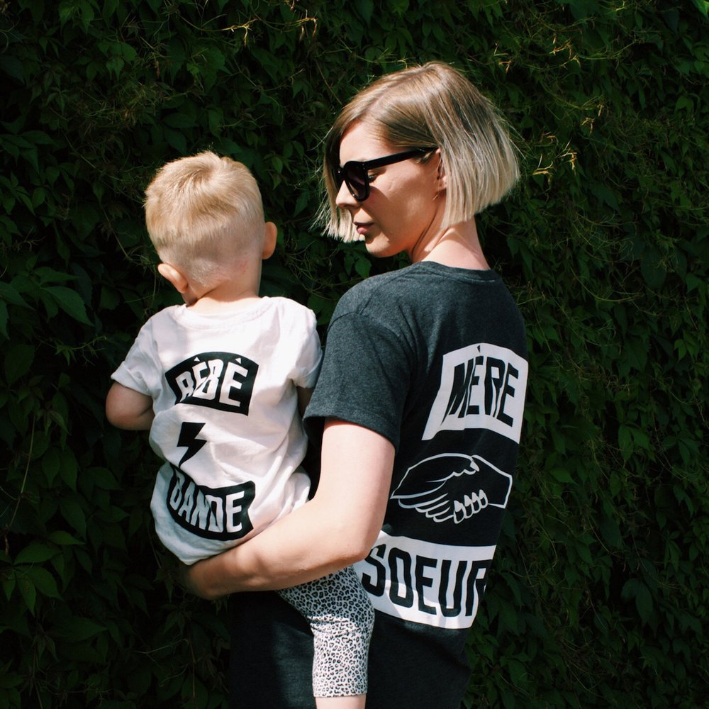 MERE SOEUR COMES IN MUM AND BABY SIZES