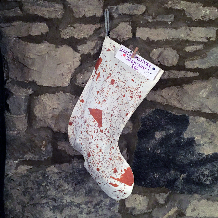 THE BEST HAND PRINTED CHRISTMAS STOCKINGS