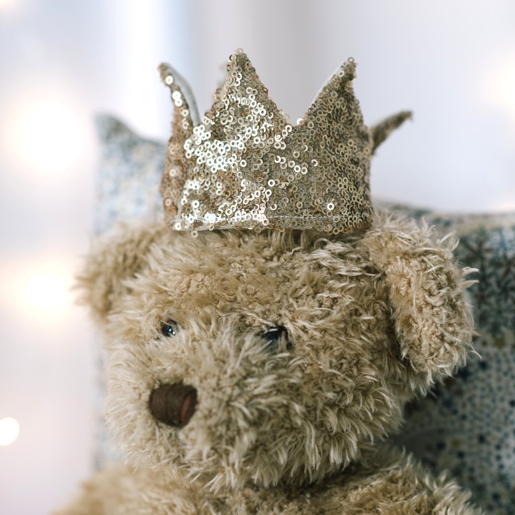 UMMM.. YEP. WE EVEN HAVE TOYS FOR YOUR TOYS! 3 CROWN SETS TO MAKE SURE YOUR FAVE TEDDIES CAN JOIN THE PARTY