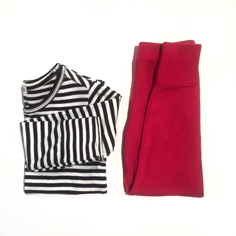 CRIMSON RED GOATMILK LEGGINGS - THERMALS THAT LOOK JUST AS GOOD OUT AS UNDER.