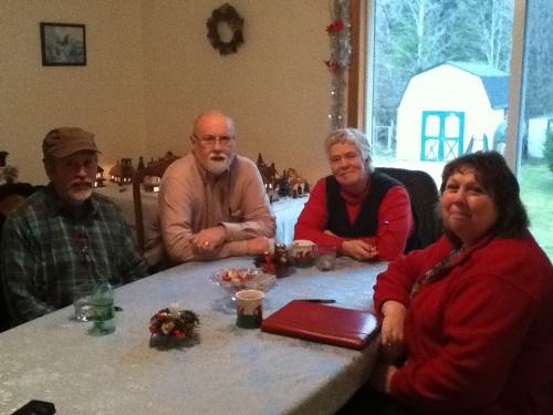 Authors Bob Hansen, Kyle Pratt, Joyce Scott and Barbara Blakey
