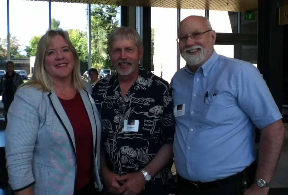 Shannon Winslow, Bob Hansen and Kyle Pratt  at the Southwest Washington Conference 2014