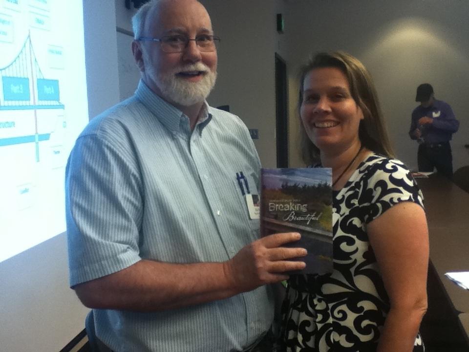 Kyle Pratt & Jennifer Shaw Wolf at the Southwest Washington Writers Conference 2015