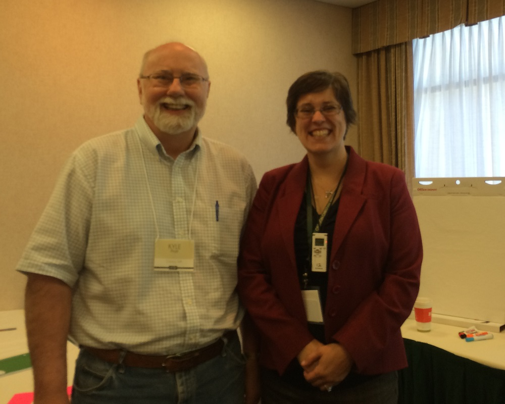 Authors Kyle Pratt and Traci Hilton at OCW 2016