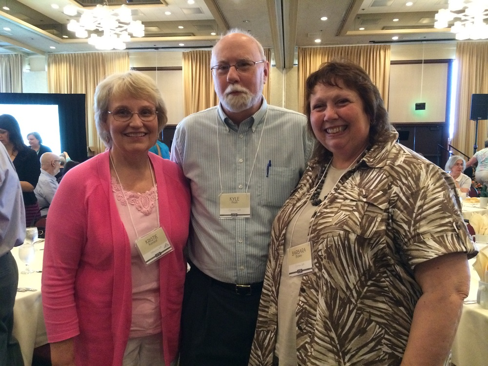 Authors Kristie Kandoll, Kyle Pratt and Barbara Blakey at OCW 2016