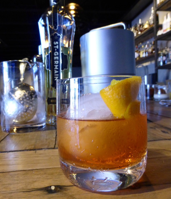 The Elderflower Old Fashioned