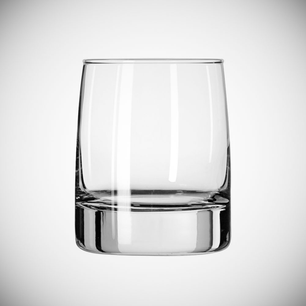 Almost as important as the ice. - Hand-blown glassware to serve your drink makes it all come together.