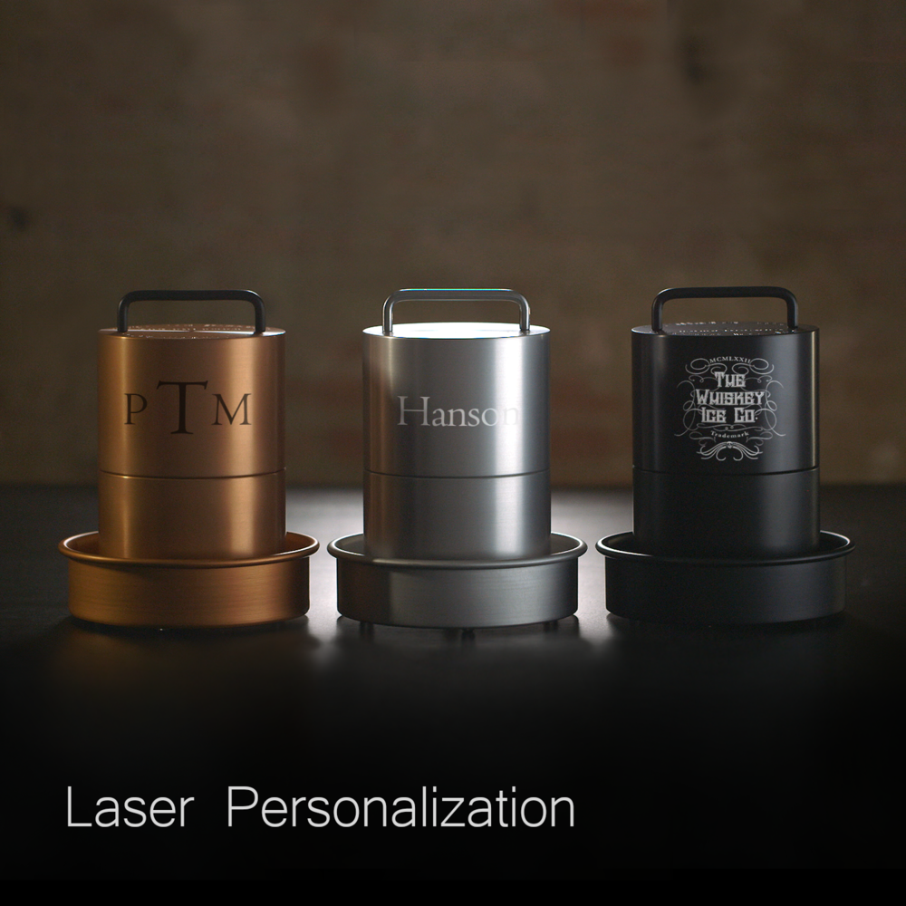 Make it personal - Don't forget to check out our Laser Personalization to make your Spherical Ice Ball Maker uniquely yours.
