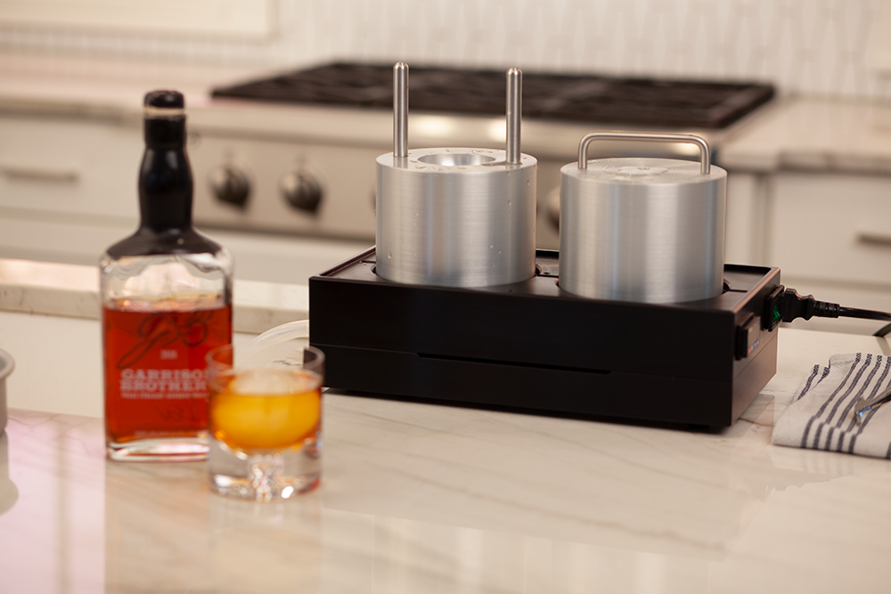 The Whiskey Ice Co. Patent-Pending Professional Series Ice Ball Maker Set