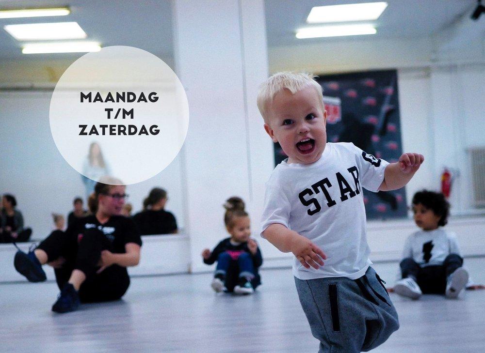 Nieuw Peuterdansen op maandag ochtend!! -