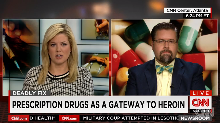 Clip of Dr. Vox on Deadly Fix, a CNN special on the prescription drug abuse epidemic.