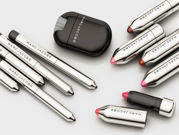 Marc Jacobs Beauty via The Dieline